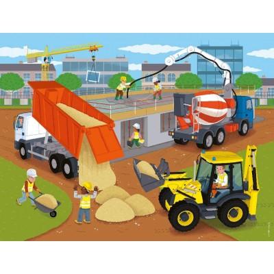 Puzzle  Nathan-86378 Die Baustelle