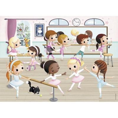 Puzzle  Nathan-86466 Die kleinen Ballerinas