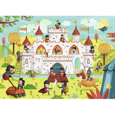 Puzzle  Nathan-86467 Bei den Rittern