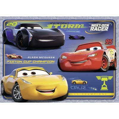 Puzzle Nathan-86530 Cars 3