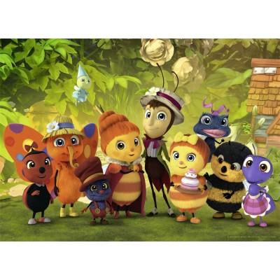 Puzzle Nathan-86531 Les Drôles de Petites Bêtes