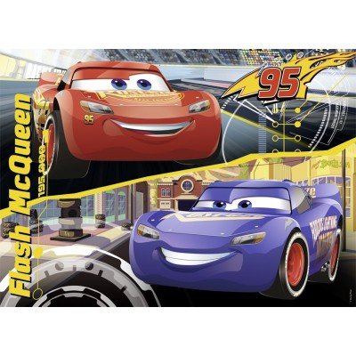 Puzzle Nathan-86532 Cars 3 - Flash Mcqueen