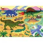 Puzzle  Nathan-86571 XXL Teile - Dinosaurius
