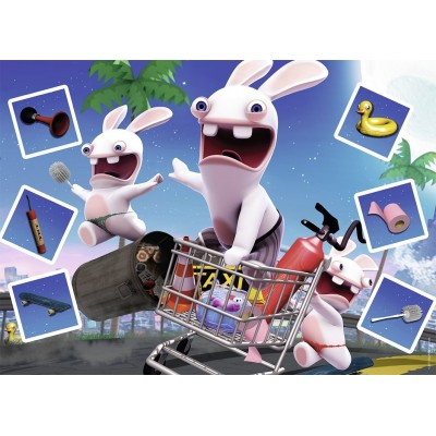 Puzzle Nathan-86602 Rabbids Invasion