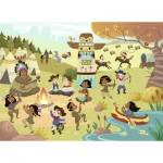Puzzle  Nathan-86628 Cowboys und Indianer