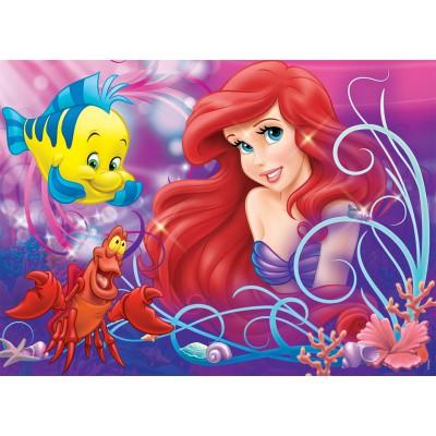 Puzzle  Nathan-86634 Arielle, Hübsche kleine Meerjungfrau