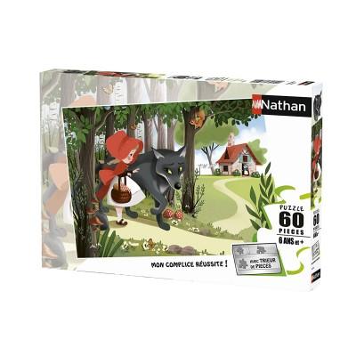 Puzzle  Nathan-86636 Rotkäppchen