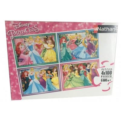 Nathan-86753 4 Puzzles - Disney Princess