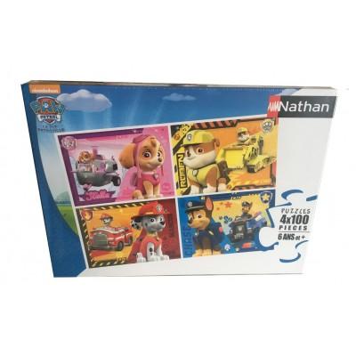 Nathan-86761 4 Puzzles - Paw Patrol