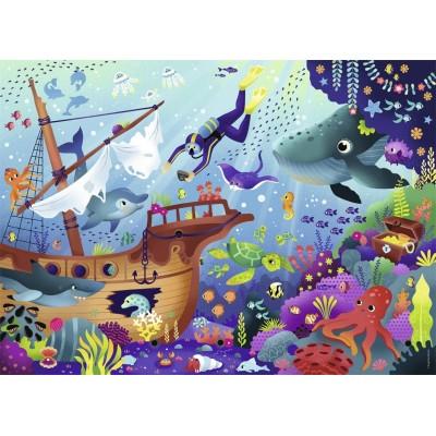Puzzle  Nathan-86765 Unterwasserwelt
