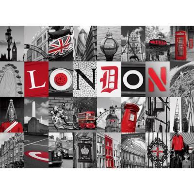 Puzzle Nathan-87210 Souvenirs von London