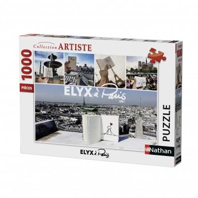 Puzzle  Nathan-87473 Elyx à Paris, by Yak