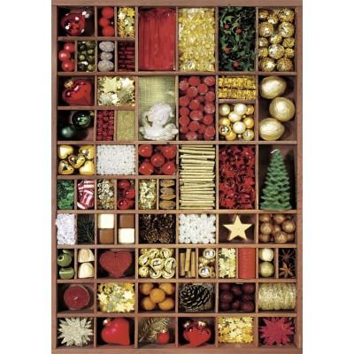 Puzzle  Nathan-87566 Weihnachtsfarben