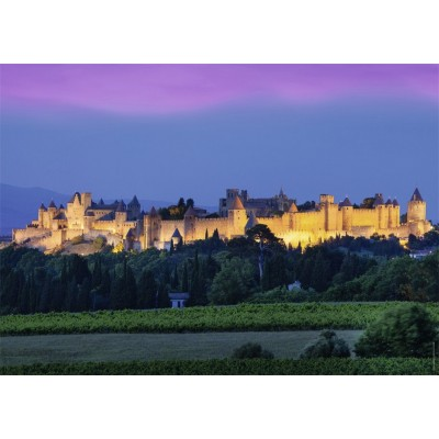 Puzzle  Nathan-87578 Stadt Carcassonne, Frankreich