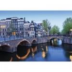 Puzzle  Nathan-87579 Amsterdam im Laufe der Wasser