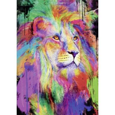 Puzzle  Nathan-87607 Aimee Stewart - Majestätischer Löwe