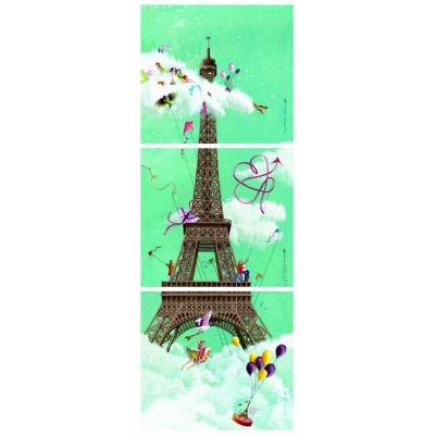 Puzzle  Nathan-87612 Marie-Anne Foucart: Eiffelturm