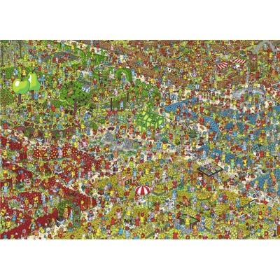 Puzzle Nathan-87621 Charlie im Garten