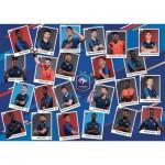 Puzzle  Nathan-87629 Französische Fußballmannschaft