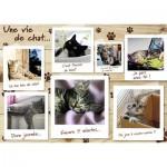 Puzzle  Nathan-87778 Une Vie de Chat
