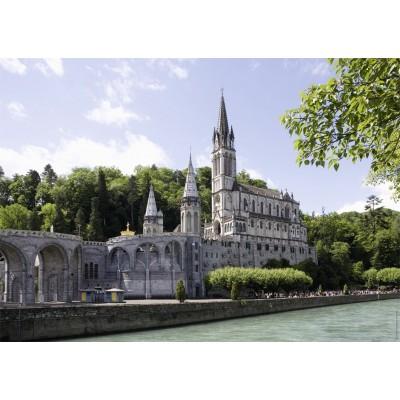 Puzzle  Nathan-87787 Heiligtum Lourdes, Frankreich