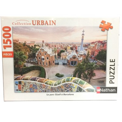 Puzzle  Nathan-87789 Park Güell in Barcelona
