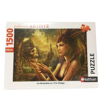 Puzzle  Nathan-87795 Cris Ortega - La Cité Perdue