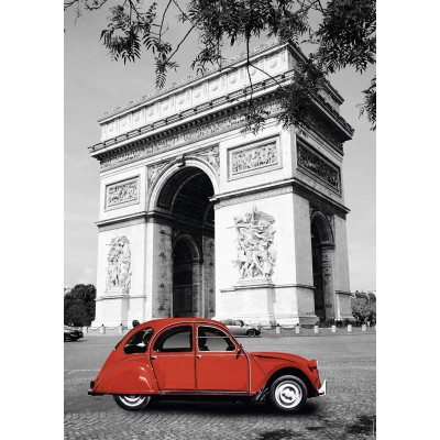 Puzzle  Nathan-87797 Citroën 2 CV in Paris
