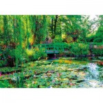 Puzzle  Nathan-87800 Die Gärten von Claude Monet, Giverny
