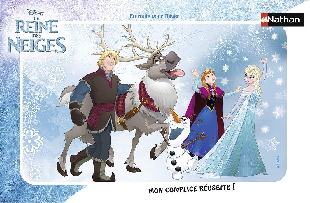 Rahmenpuzzle - Frozen - Die Eiskönigin Nathan-86038 15 Teile Walt ...