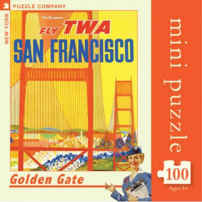 Puzzle  New-York-Puzzle-AA714 Golden Gate Mini