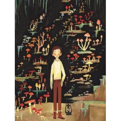 Puzzle  New-York-Puzzle-EM1918 XXL Teile - Mushroom Boy