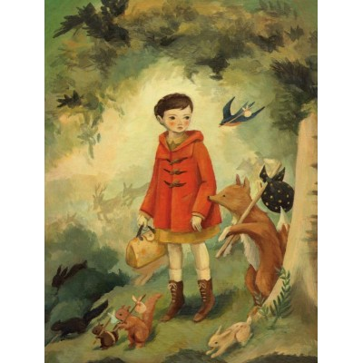 Puzzle  New-York-Puzzle-EM2031 XXL Teile - Out of the Woods