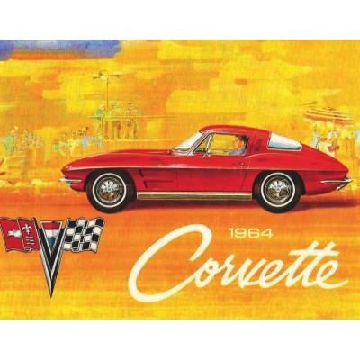 Puzzle  New-York-Puzzle-GM1703 1964 Corvette Mini