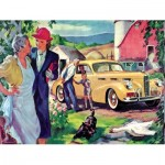 Puzzle  New-York-Puzzle-GM2175 To Grandmother's House