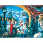 Puzzle  New-York-Puzzle-HP1608 XXL Teile - Harry Potter - Three Broomsticks