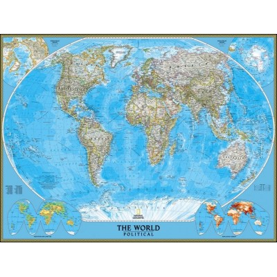 Puzzle  New-York-Puzzle-NG1601 National Geographic - The World