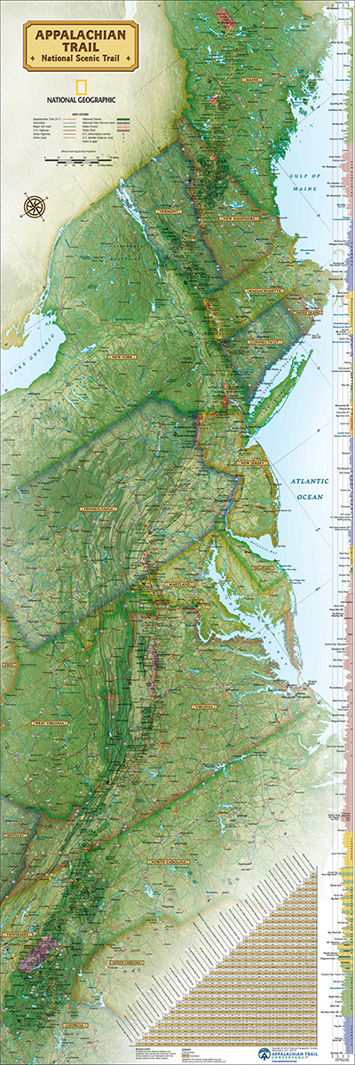 Puzzle  New-York-Puzzle-NG1708 Appalachian Trail