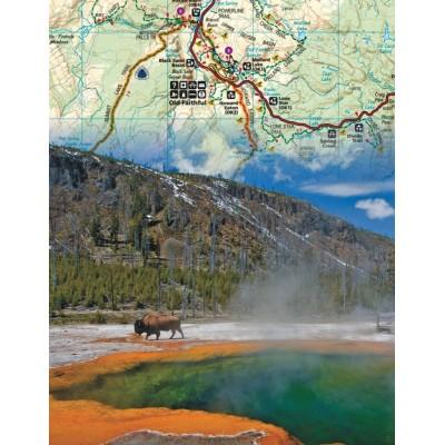 Puzzle  New-York-Puzzle-NG1851 Yellowstone Mini