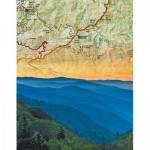 Puzzle  New-York-Puzzle-NG1963 Smoky Mountains Mini