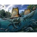 Puzzle  New-York-Puzzle-NG2070 XXL Teile - Spinosaurus