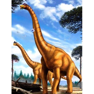 Puzzle  New-York-Puzzle-NG2071 XXL Teile - Brachiosaurus