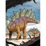 Puzzle  New-York-Puzzle-NG2166 XXL Teile - Stegosaurus
