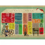 Puzzle  New-York-Puzzle-NL2121 Tool Shed