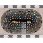 Puzzle  New-York-Puzzle-NL2125 Animal Kingdom