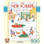 Puzzle  New-York-Puzzle-NY159 XXL Teile - Snow Day