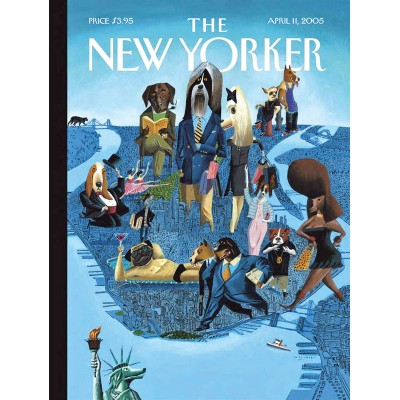 Puzzle  New-York-Puzzle-NY1705 City Dogs