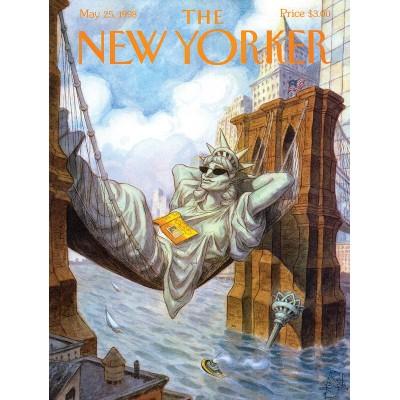 Puzzle  New-York-Puzzle-NY1707 XXL Teile - Liberty