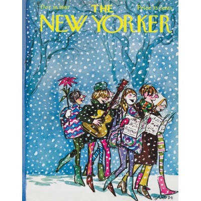 Puzzle  New-York-Puzzle-NY1729 Caroling Mini