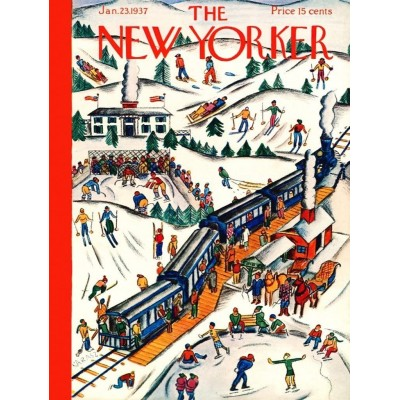 Puzzle  New-York-Puzzle-NY181 Winter Weekend